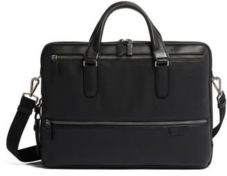 Tumi Harrow Double Zip Leather Briefcase