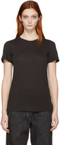Raquel Allegra Black Jersey Slim T-Shirt