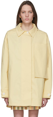 Jacquemus Yellow Le Manteau Camiseto Jacket