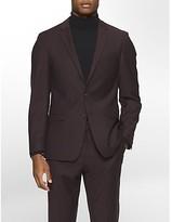 Calvin Klein X Fit Ultra Slim Fit Raisin Suit Jacket