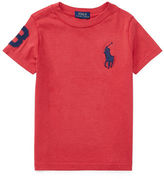 Ralph Lauren Childrenswear Cotton Jersey Crew Neck T-Shirt