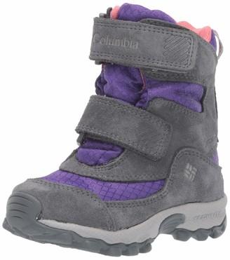 Columbia Unisex Kid's Childrens Parkers Peak Boot Snow Purple (Emperor Wild S 512) 11.5 (30 EU)