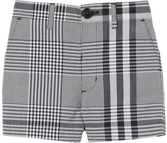 Burberry Boy's Martwell Check Shorts, Size 6M-2