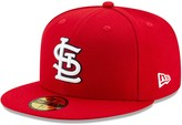 New Era Men's St. Louis Cardinals Red 2020 Authentic Collection On-Field 59FIFTY Fitted Hat