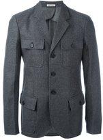 Marni multi pocket jacket - men - Cotton/Polyamide/Spandex/Elastane/Virgin Wool - 52
