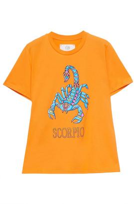 Alberta Ferretti Love Me Starlight Printed Organic Cotton-jersey T-shirt