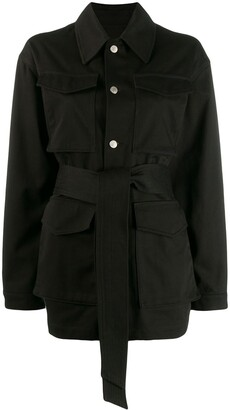 Ami Paris Patch Pockets Military Jacket