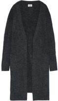 Acne Studios Raya Oversized Knitted Cardigan - Storm blue