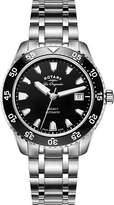 Rotary Watches Men's Legacy Dive Dial Stainless Steel Bracelet Watch GB90168/04