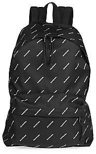 Balenciaga Men's Logo Explorer Backpack