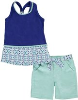 "Nannette Little Girls' Toddler ""Pom Pom Pretty"" 2-Piece Outfit"