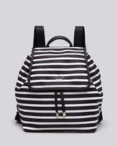 Kate Spade Molly Classic Striped Nylon Backpack
