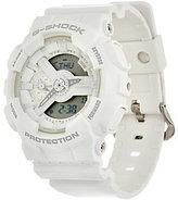 Casio G-Shock Women's Analog Digital White on White Resin Watch
