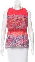 Peter Pilotto Abstract Print Sleeveless Top