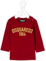 DSQUARED2 logo sweatshirt - kids - Cotton - 6 mth