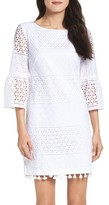 Vince Camuto Women's Eyelet A-Line Dress