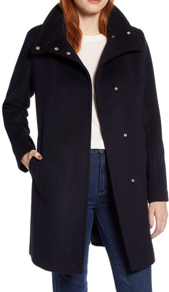 Cole Haan Long Wool Winter Coat