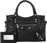 Balenciaga Women's Arena Leather Giant Mini City Bag