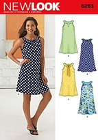 "Simplicity 6263 Size A 8/10/12/14/16/18 ""Misses' A- Line Dress"" New Look Sewing Pattern"