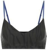 The Upside Midnight Tiger sports bra
