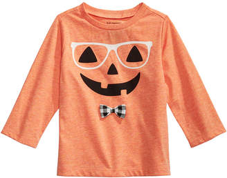 First Impressions Baby Boys Hipster Pumpkin T-Shirt
