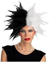 Disguise 101 Dalmatians Disney Deluxe Cruella De Vil Adult Costume Wig