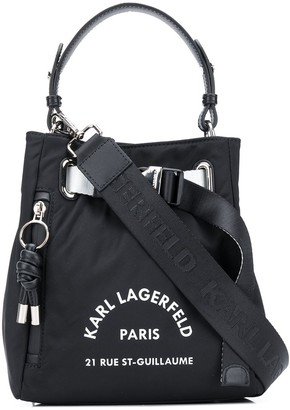 Karl Lagerfeld Paris Rue St Guillaume bucket bag