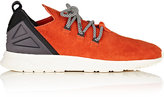 adidas Men's ZX Flux ADV X Nubuck Sneakers-ORANGE, BLACK, RED