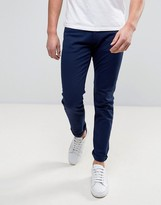 Armani Jeans Slim Fit Jeans In Navy