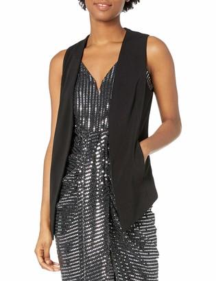 BCBGeneration Women's Tuxedo Vest with Welts