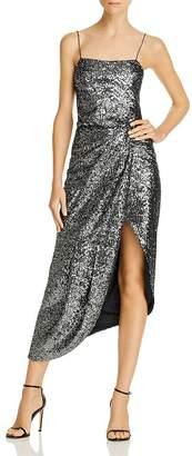 Derek Lam 10 Crosby Lexis Asymmetric Sequin Dress