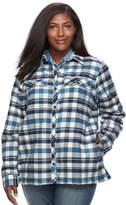 Columbia Plus Size Waverly Mountain Plaid Shirt