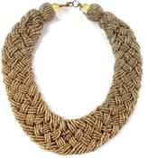 Wild Lilies Jewelry Gold Braided Necklace