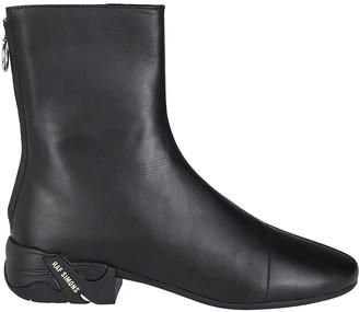 Raf Simons Black Leather Solaris Boots
