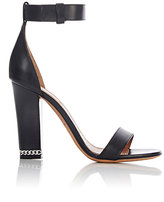Givenchy Women's Chain-Trimmed Sandals-BLACK