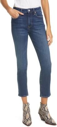 TRAVE Irina High Waist Slim Ankle Jeans