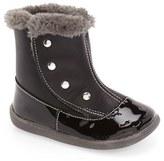 See Kai Run Infant Girl's 'Amelia' Faux Fur Trim Boot