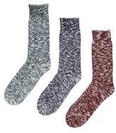 Burton Mens Subtle Pattern Boot Socks