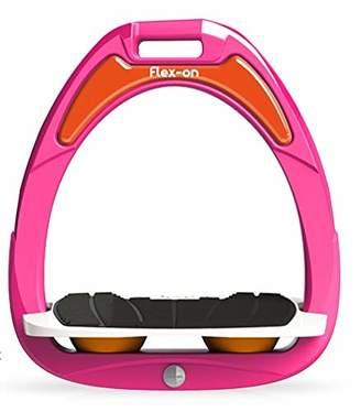 Flex on Green Composite Junior Range Junior Inclined Ultra-Grip Frame Color: Pink Footbed Color: White ELASTOMERS: