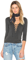 Amour Vert Bristol Top in Charcoal. - size XS (also in )