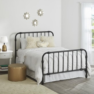 Little Seeds Girls Monarch Hill Wren Full-Size Metal Bed