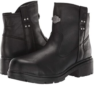 Harley-Davidson Camfield Steel Toe (Black) Women's Work Boots