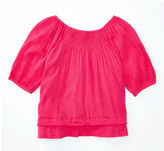 Ralph Lauren 2-6X Smocked Cotton-Blend Top