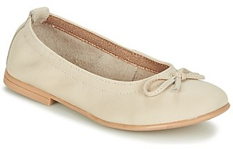 Citrouille et Compagnie JAPPALIE MOCA girls's Shoes (Pumps / Ballerinas) in Beige