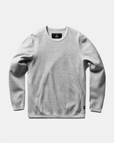 Reigning Champ Long Sleeve Crewneck (Heather Grey | Bonded Terry)
