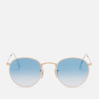 Ray-Ban Women's Metal Round Frame Sunglasses - Arista