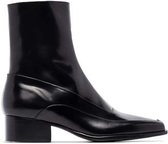 Y/Project square toe 50mm ankle boots