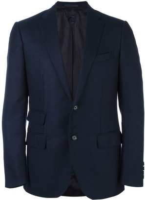 Caruso flap pocket blazer