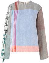 Ports 1961 patterned sweatshirt - women - Linen/Flax/Viscose - 38