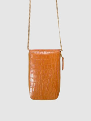 Area Stars Wooster Crossbody Bag in Honey Croc